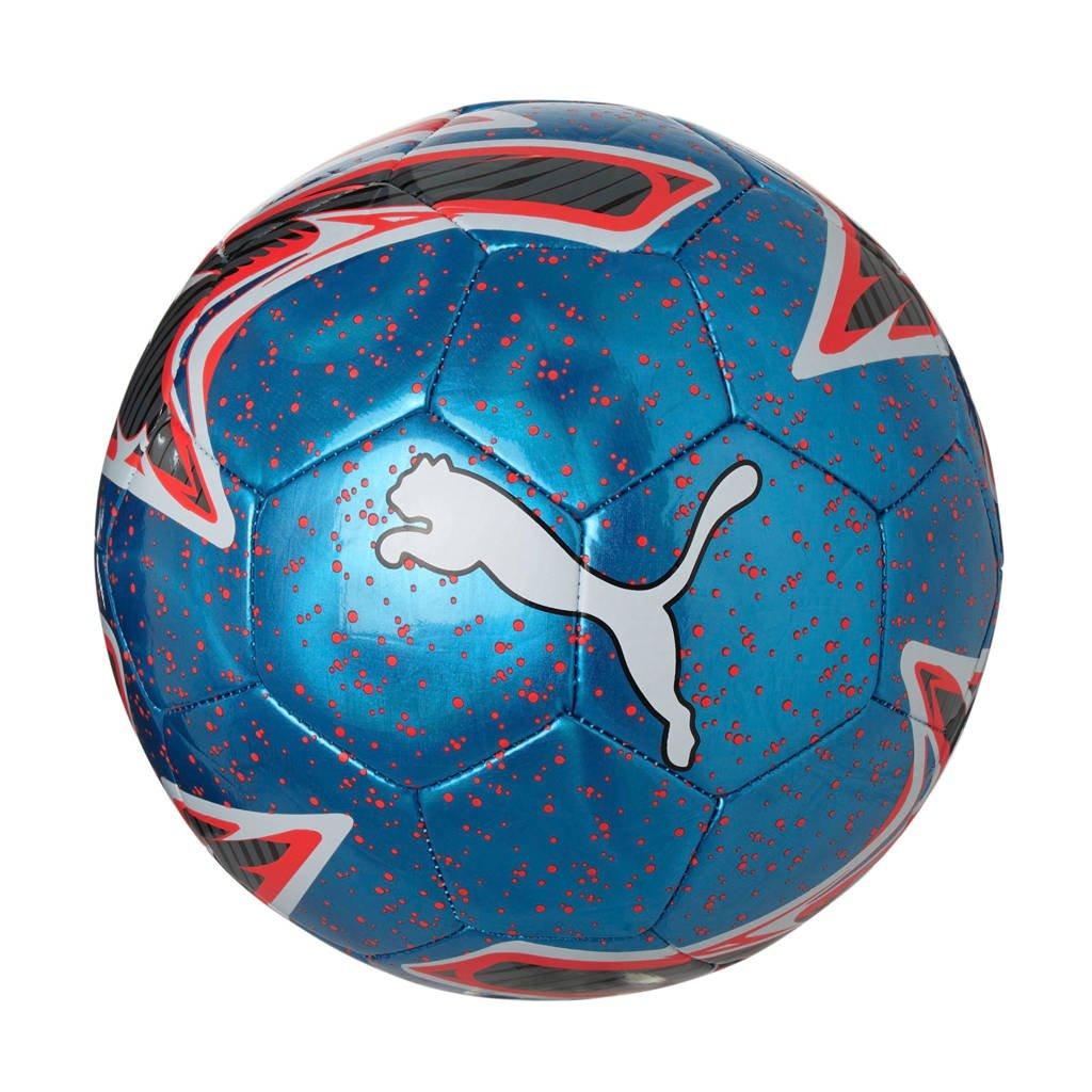 Puma   One Laser ball voetbal, Blauw/roze