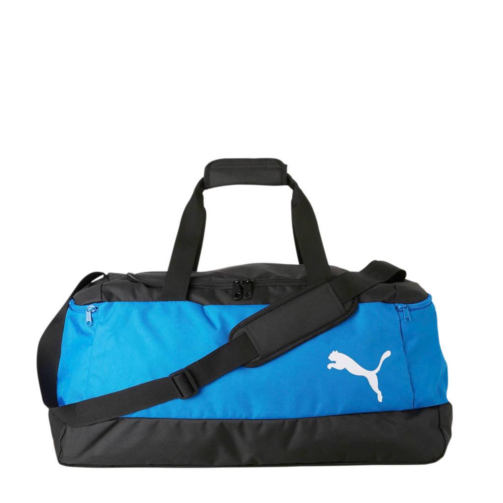 Puma   Pro Training II Medium sporttas blauw, Blauw/zwart