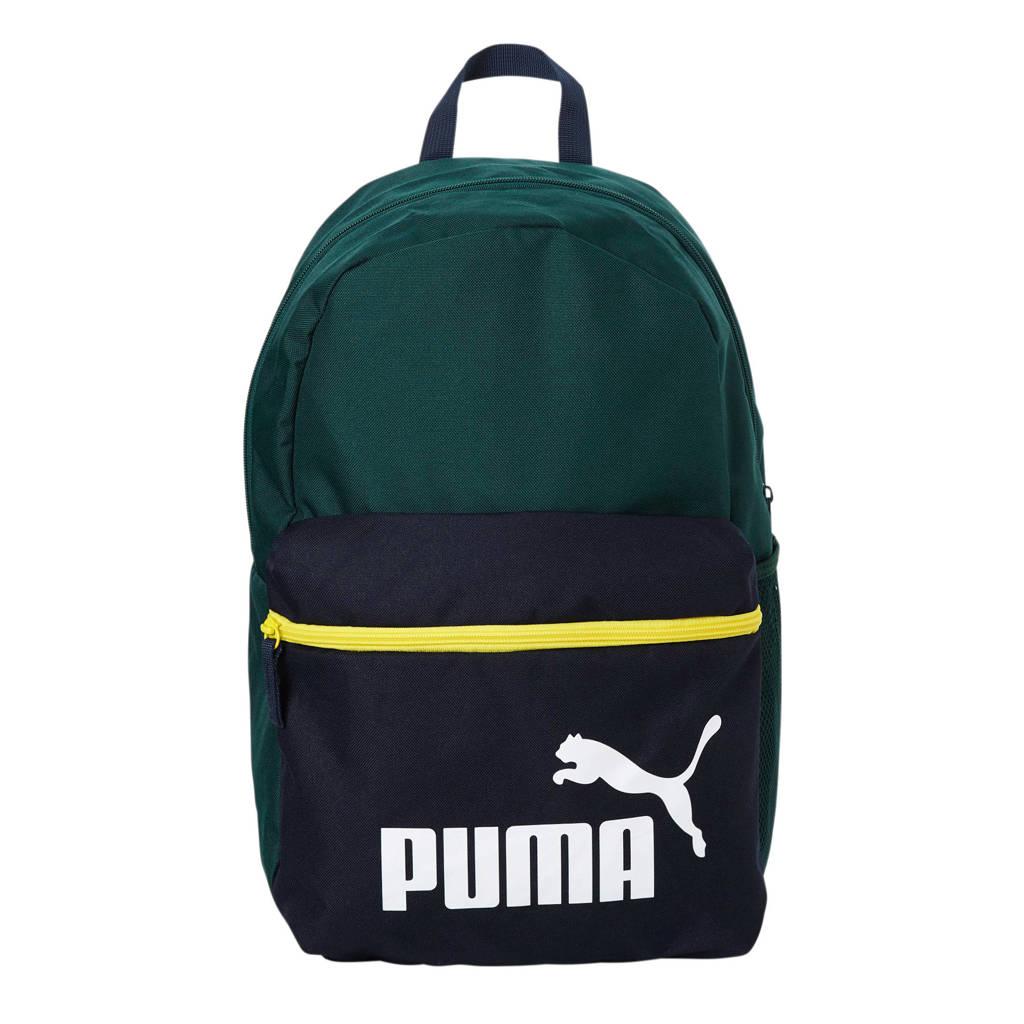 Puma   rugzak, Donkergroen/donkerblauw