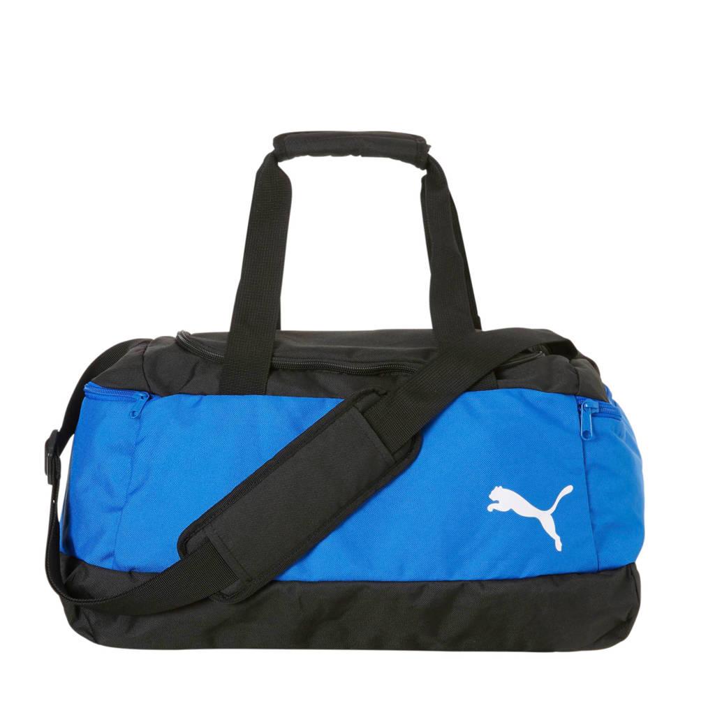 Puma   Pro Training II sporttas blauw, Blauw/zwart/wit