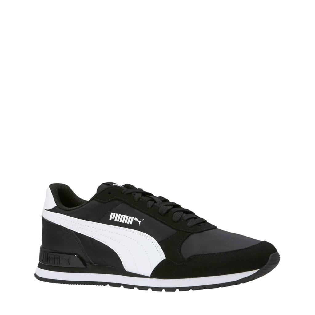 Puma   ST Runner v2 NL sneakers zwart/wit, Zwart/wit