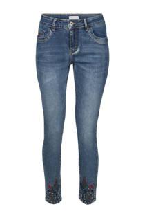 Cassis skinny jeans met kraaltjes en borduursels (dames)
