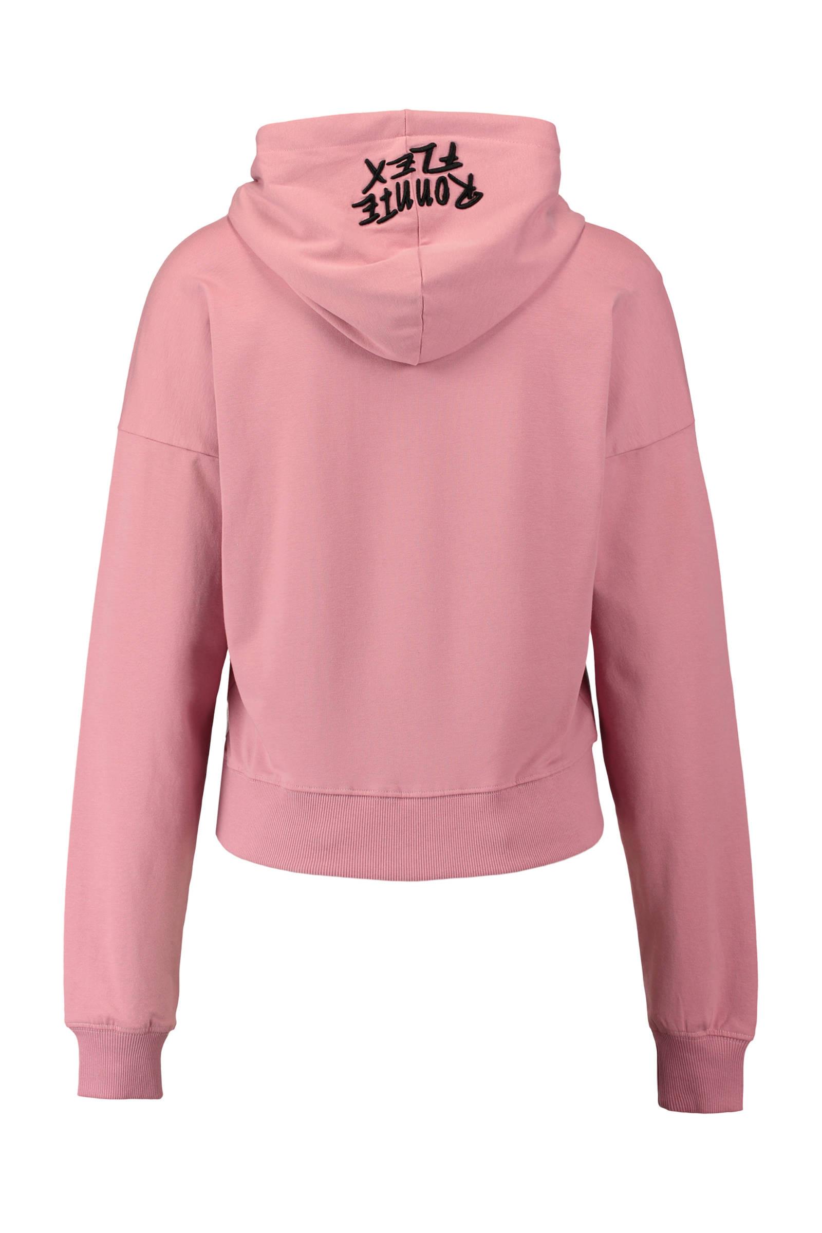 CoolCat Ronnie Flex hoodie met print rood | wehkamp