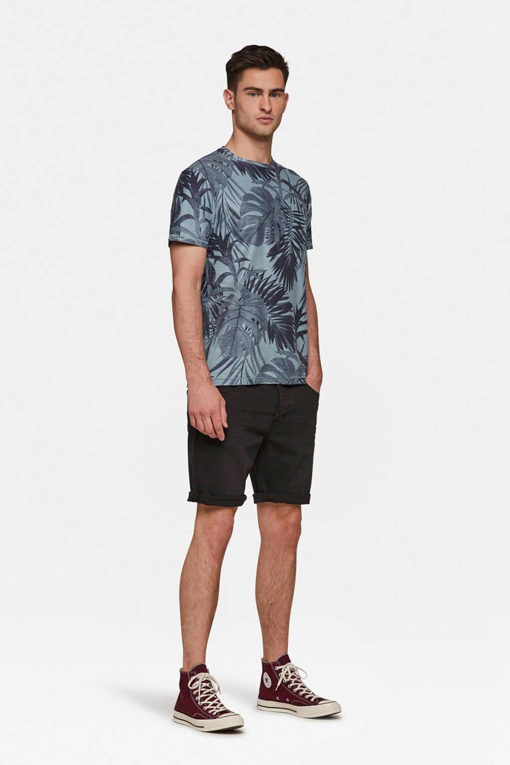 WE Fashion regular fit bermuda, Zwart