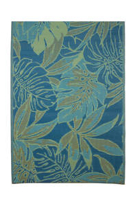 Mica Decorations vloerkleed (180x120 cm), Blauw
