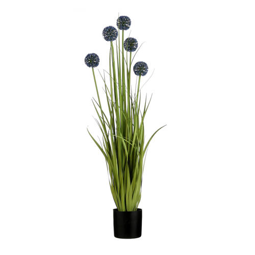 Mica kunstplant Allium (h90 cm) kopen
