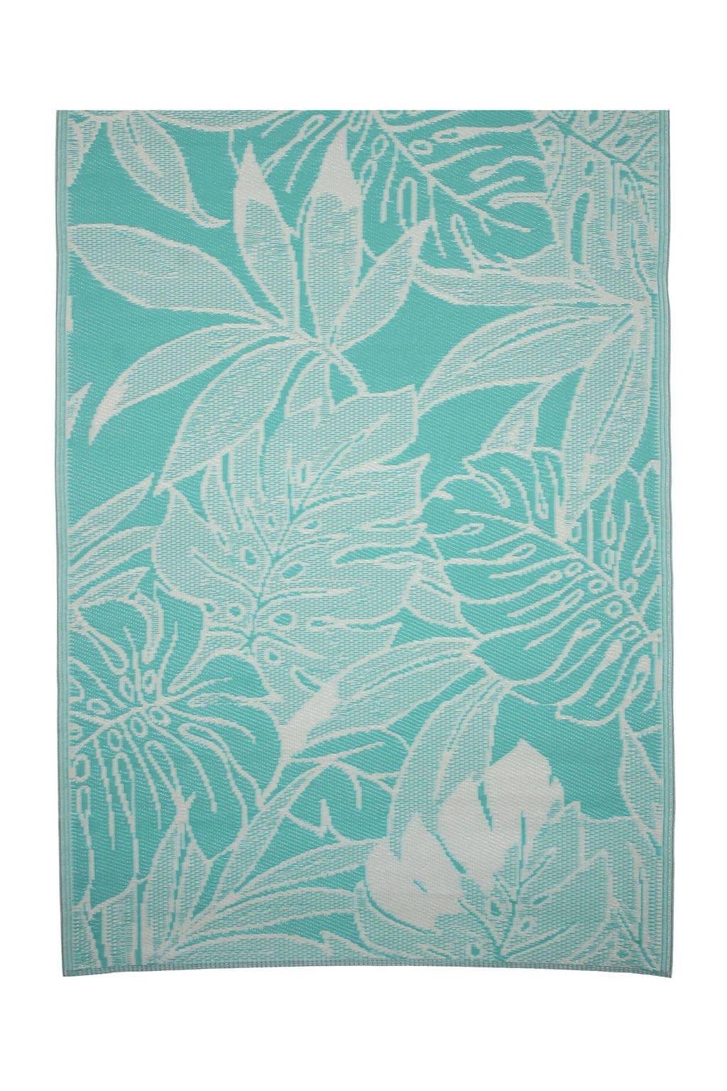 Mica Decorations vloerkleed (180x120 cm), Turquoise