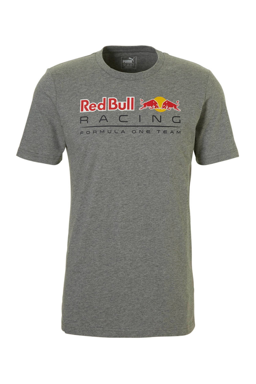 Puma   Red Bull Racing T-shirt, Grijs melange