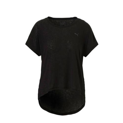 Puma sport T-shirt zwart kopen
