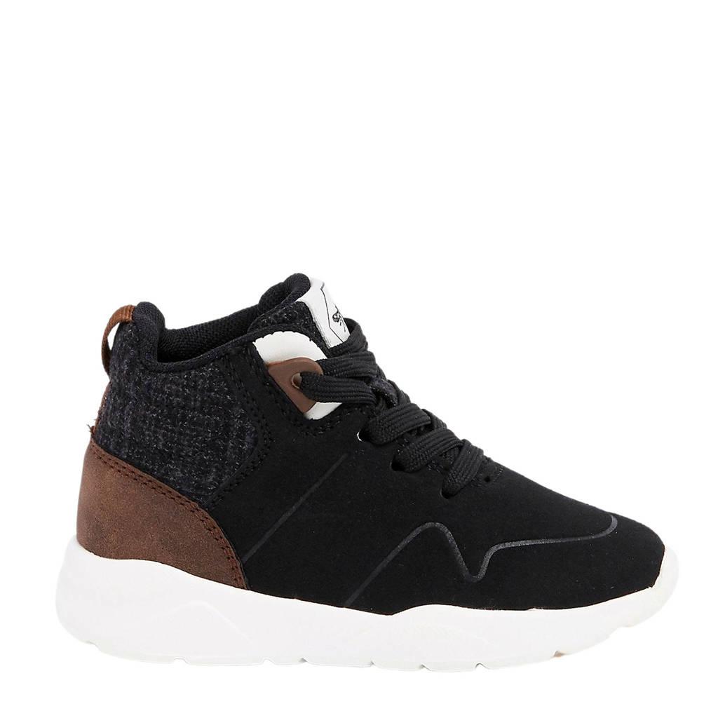 River Island sneakers, Zwart/bruin/grijs