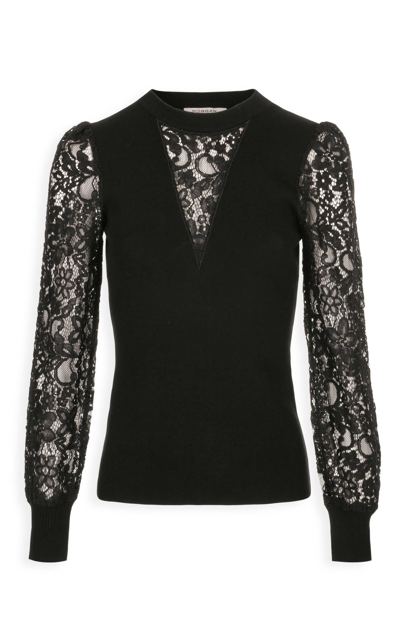 zwart glitter hemdje