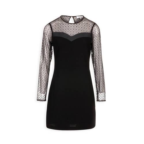 a-lijn jurk Frida zwart