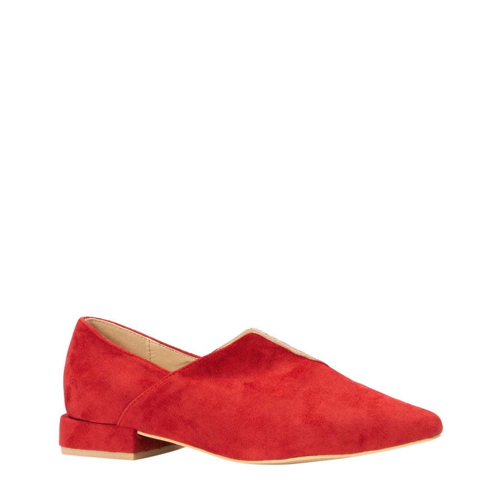 Lost Ink   loafer rood, Rood