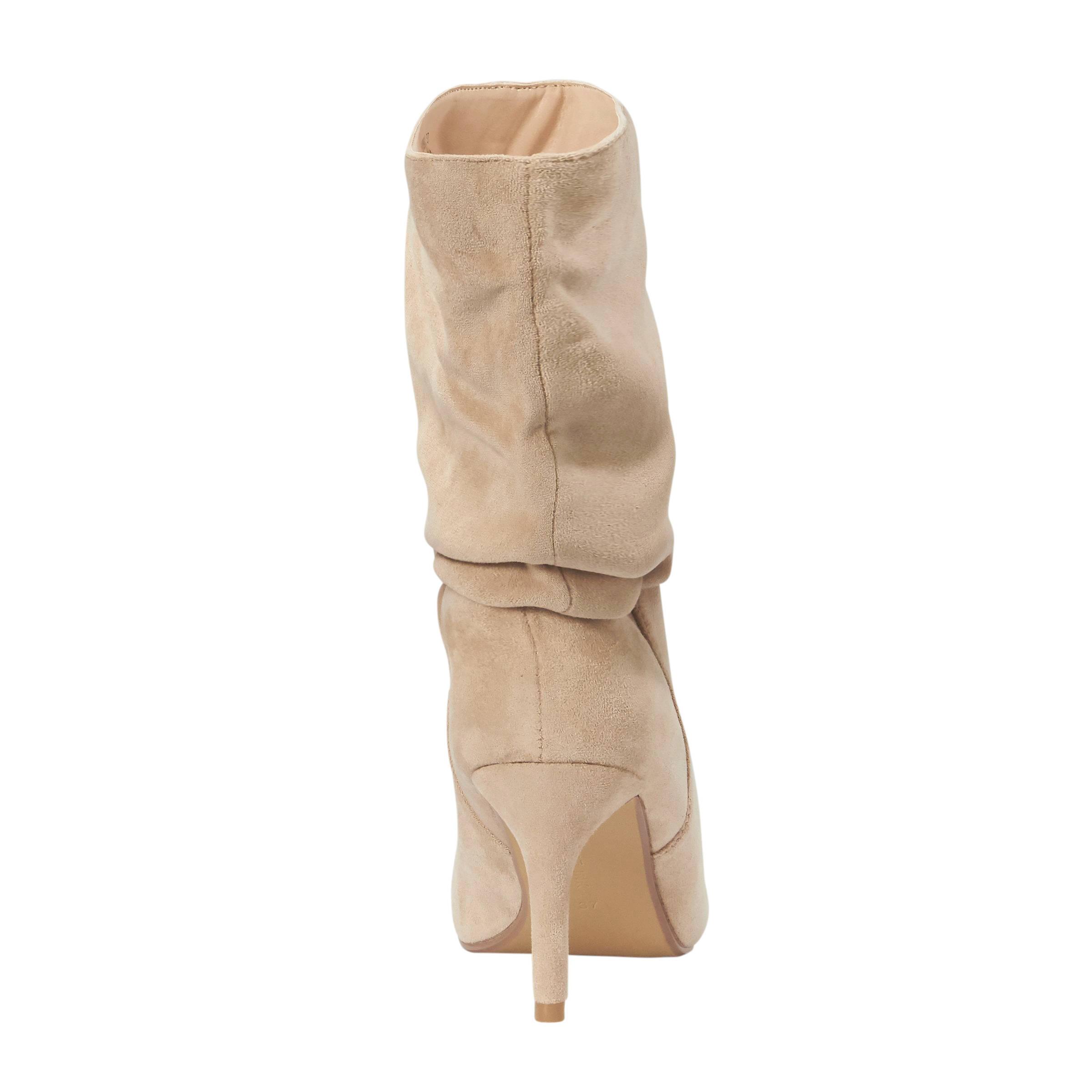 Lost Ink laarzen beige | wehkamp