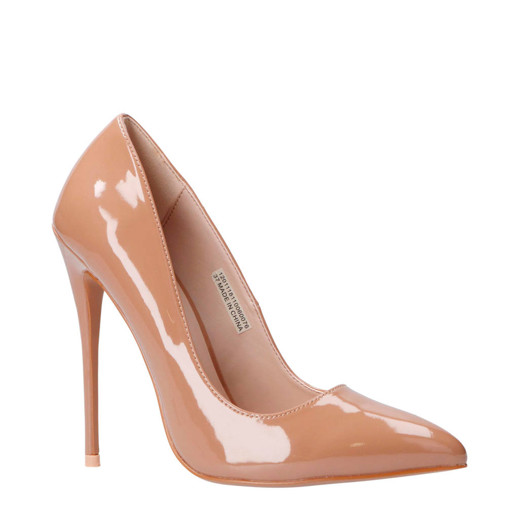 Lost Ink pump taupe, Taupe