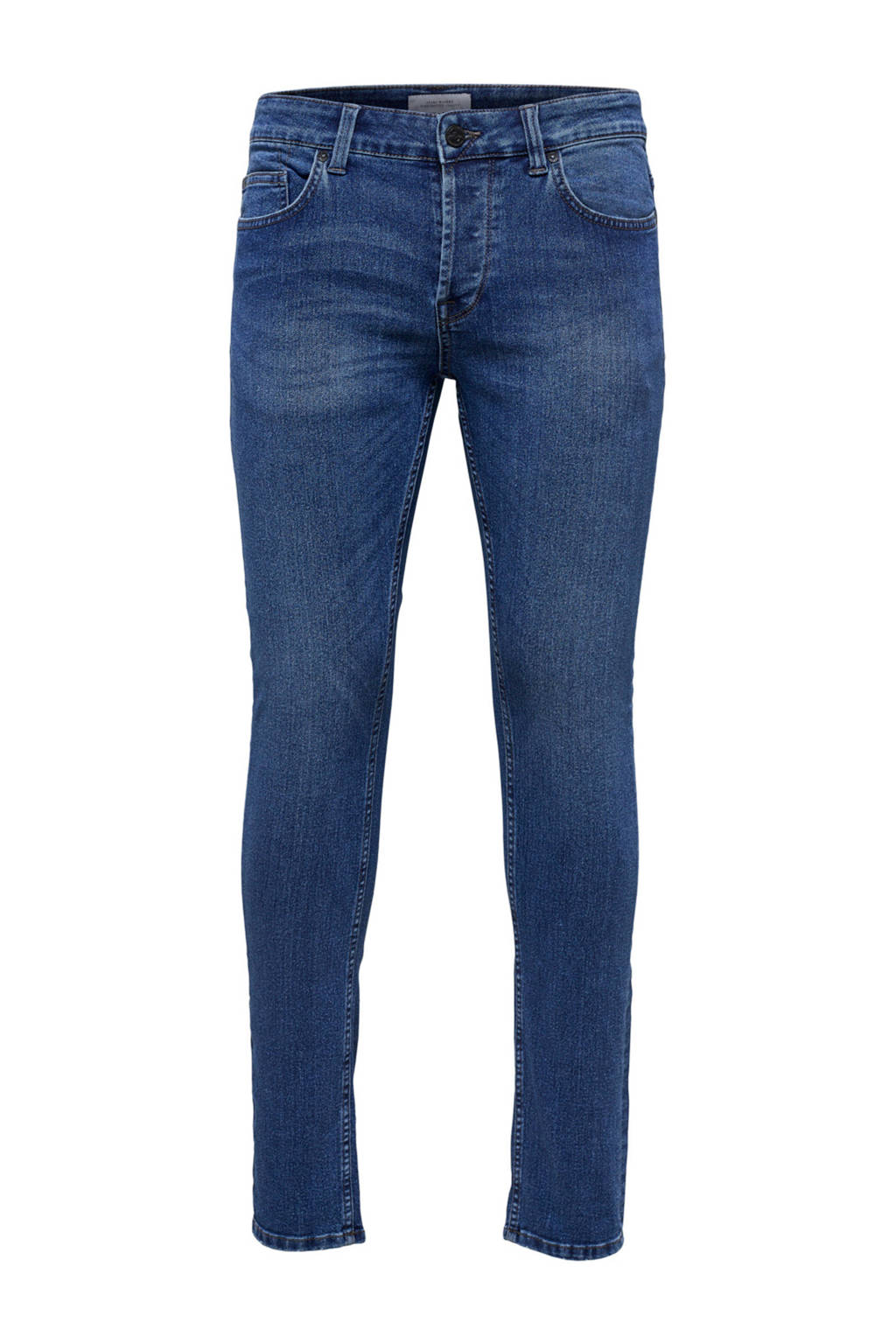 Only & Sons skinny fit jeans, Blauw