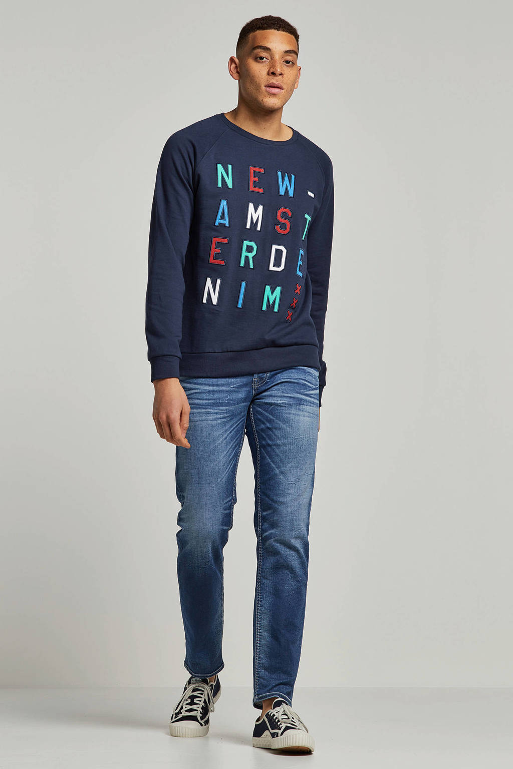 Jack & Jones Jeans Intelligence regular fit jeans Mike, Dark denim