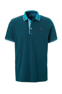JACK & JONES CORE polo korte mouw, Petrol