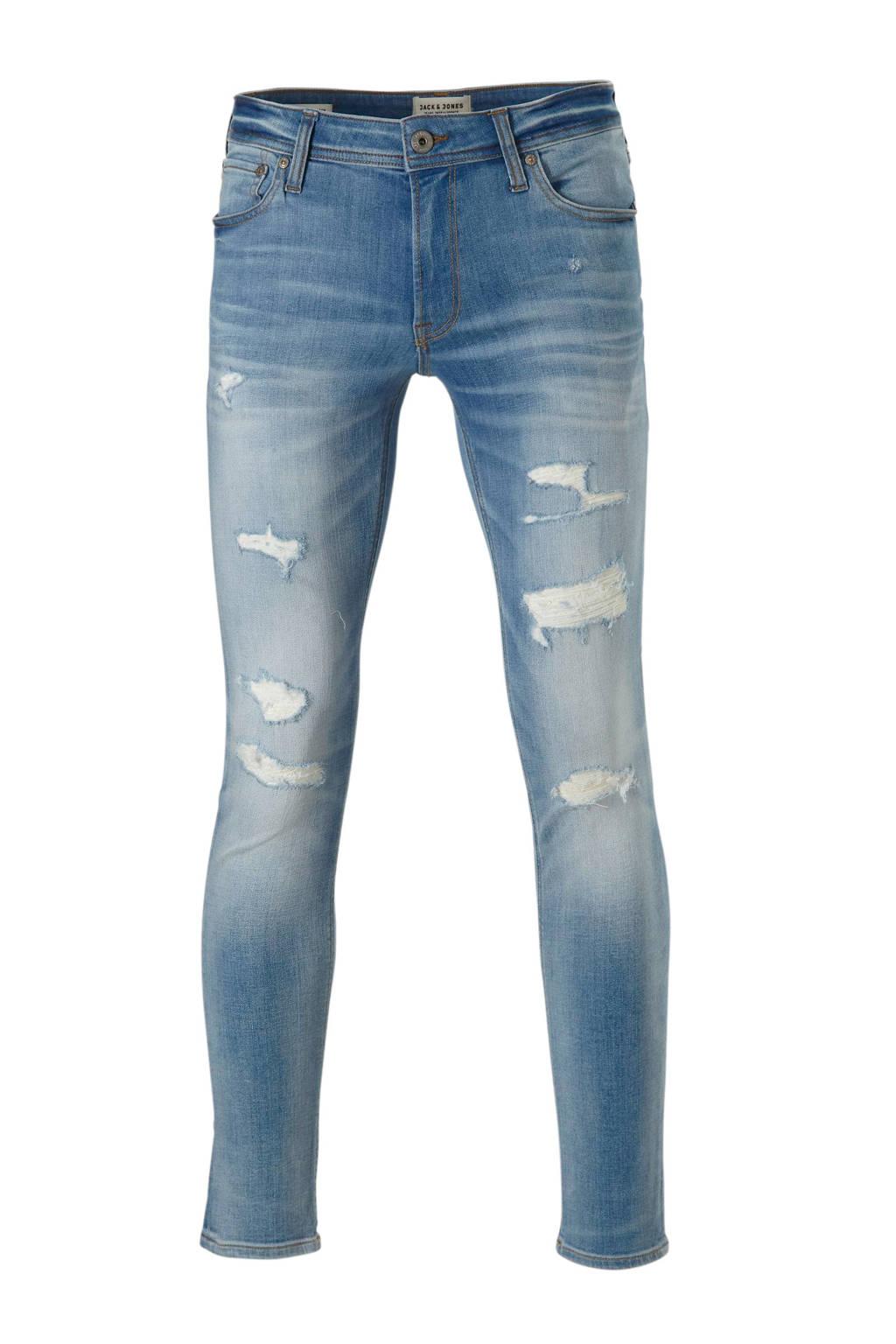 J&J Intelligence slim fit jeans Liam, Light denim