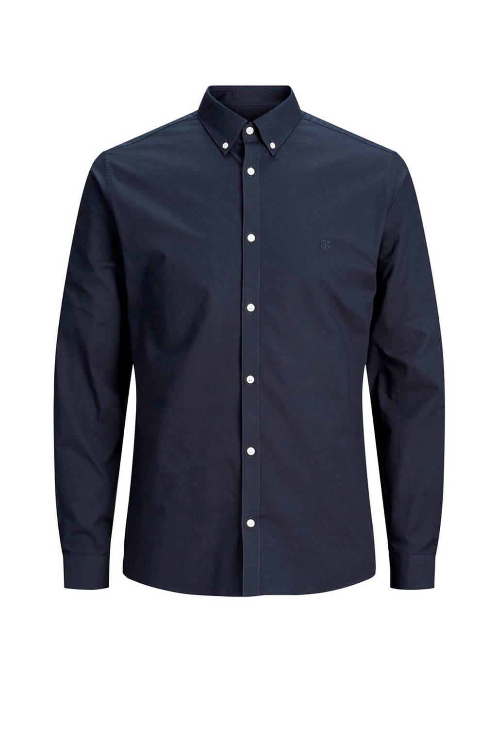 Jack & Jones Premium overhemd, Marine blauw