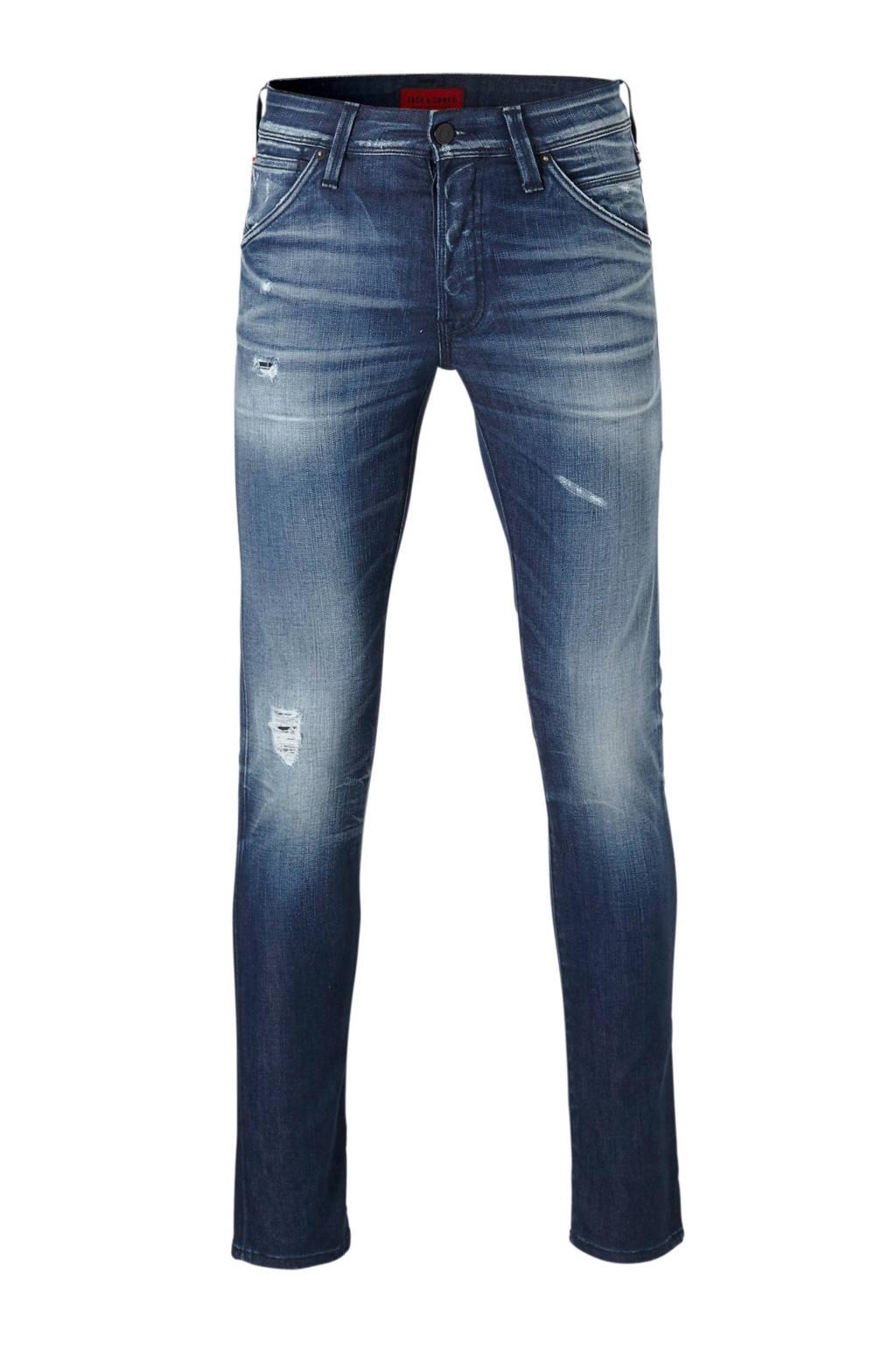 Jack & Jones Jeans Intelligence slim fit jeans Glenn, Dark denim