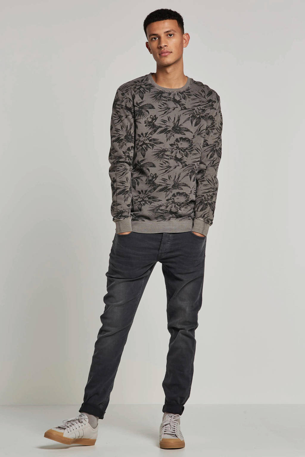 Only & Sons sweater, Grijs melange