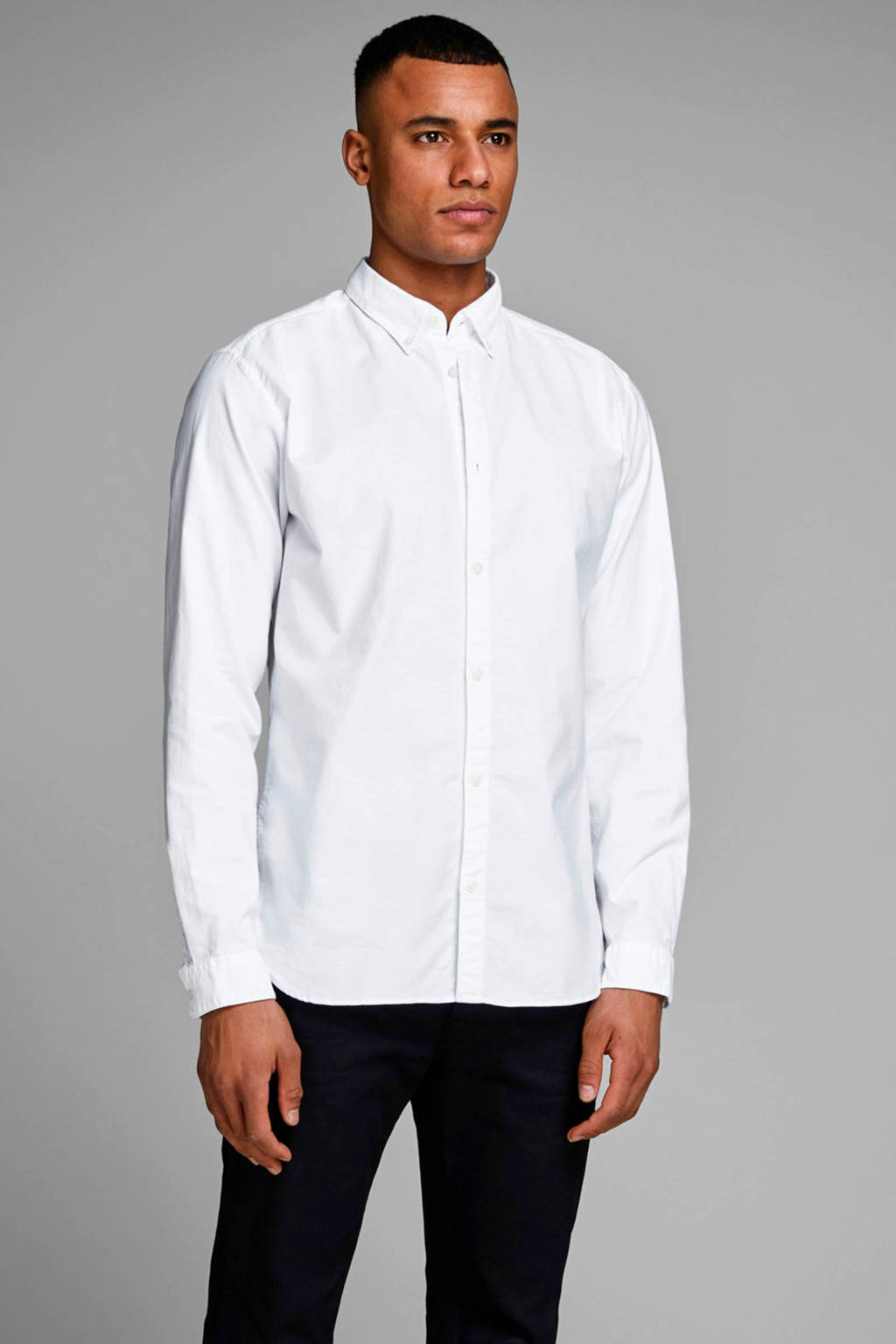 JACK & JONES PREMIUM overhemd, Wit
