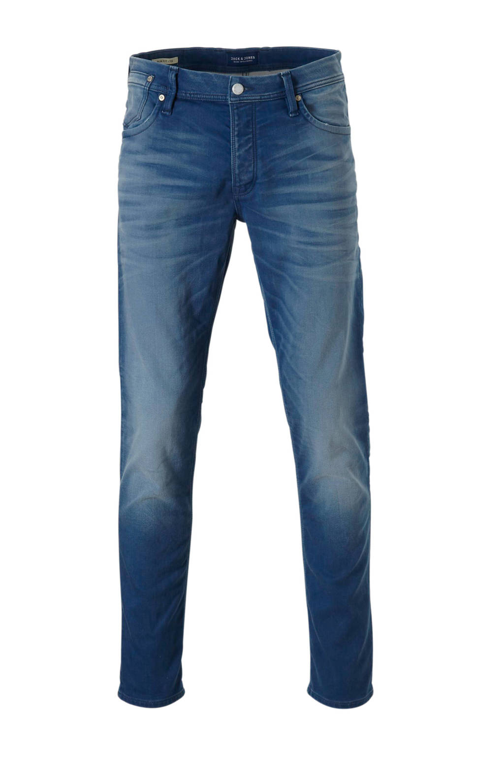 JACK & JONES JEANS INTELLIGENCE regular fit jeans Tim, Dark denim