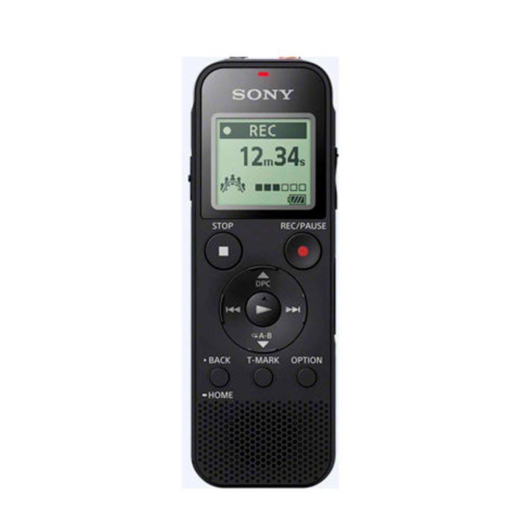 Sony  voicerecorder ICDPX470.CE7 zwart, Zwart