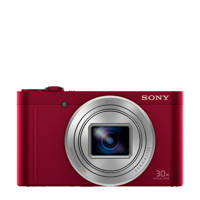 Sony Cybershot DSC-WX500 Rood compact camera