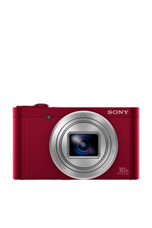 Cybershot DSC-WX500 Rood compact camera