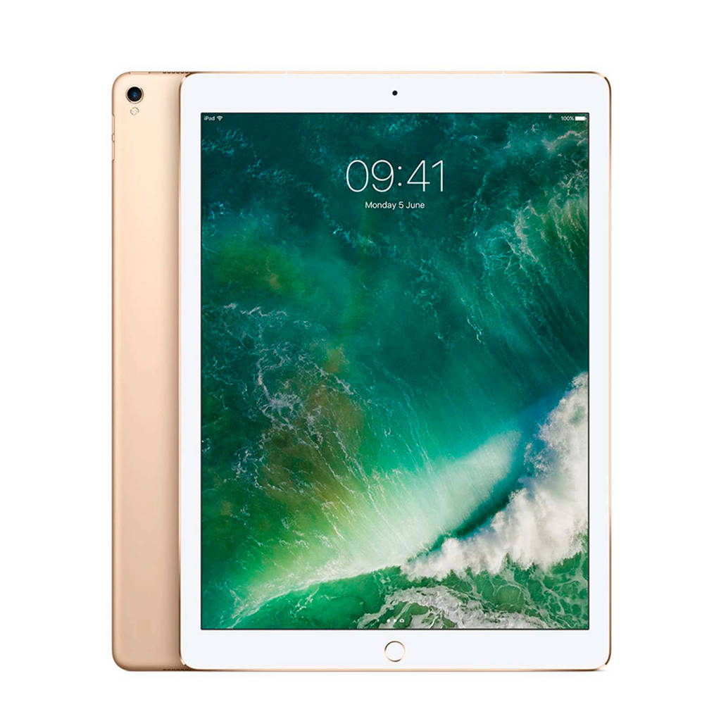 Apple iPad Pro 12.9 inch 256GB Wi-Fi + Cellular (MPA62NF/A), Goud