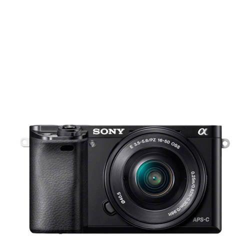 Sony Alpha A6000 + 16+50mm systeem camera kopen