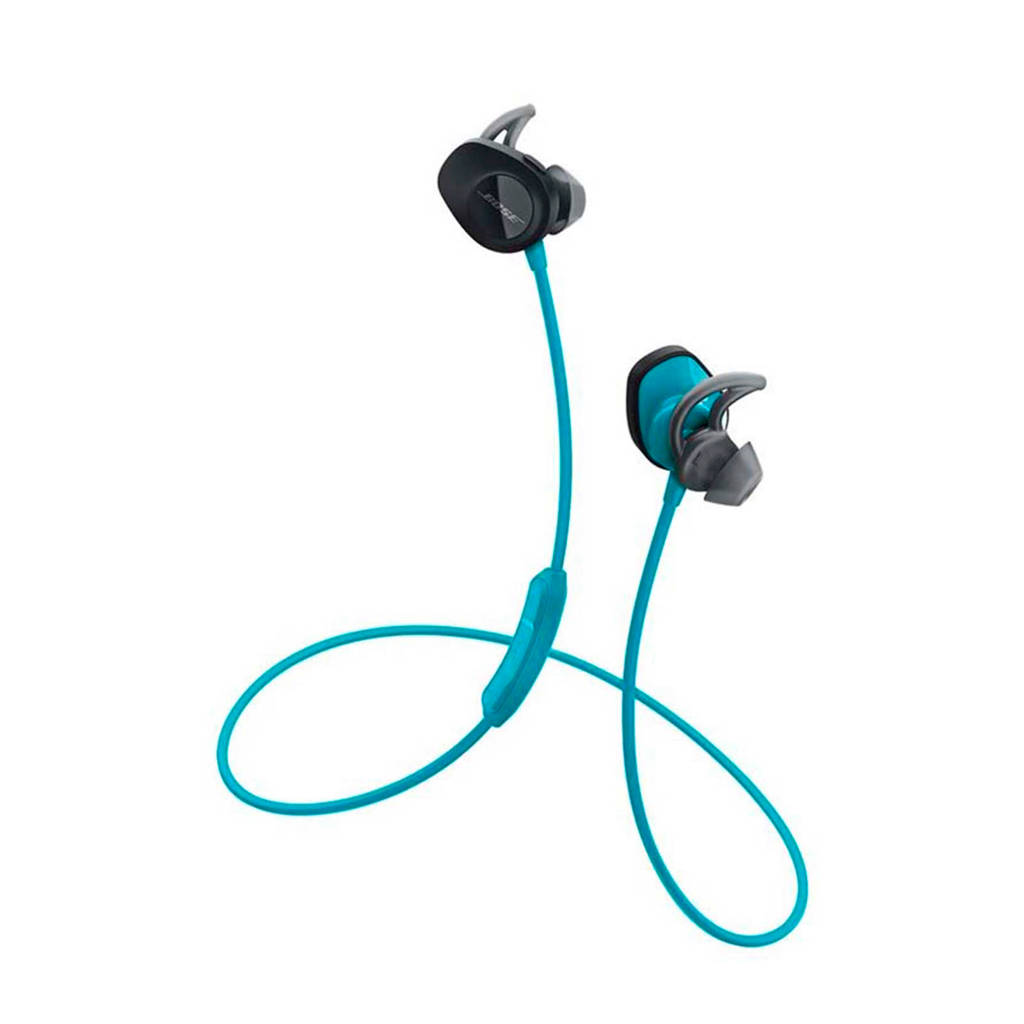 Bose SoundSport sport in ear bluetooth koptelefoon blauw, Blauw