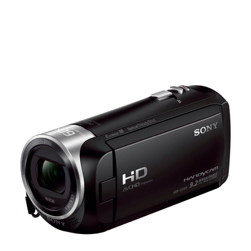 Sony HDR-CX405 camcorder, Zwart