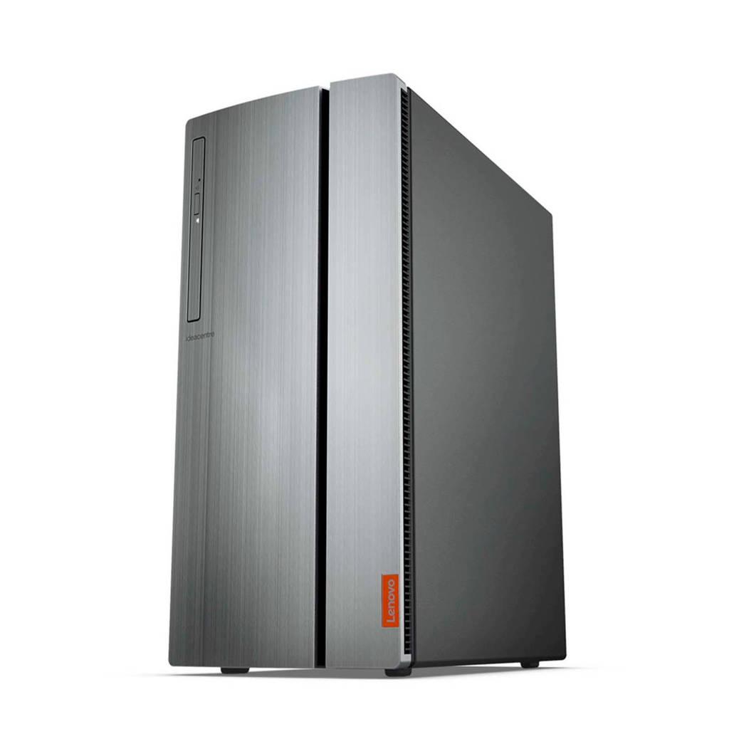 Lenovo IdeaCentre 720-18ASU computer, Zwart, zilver