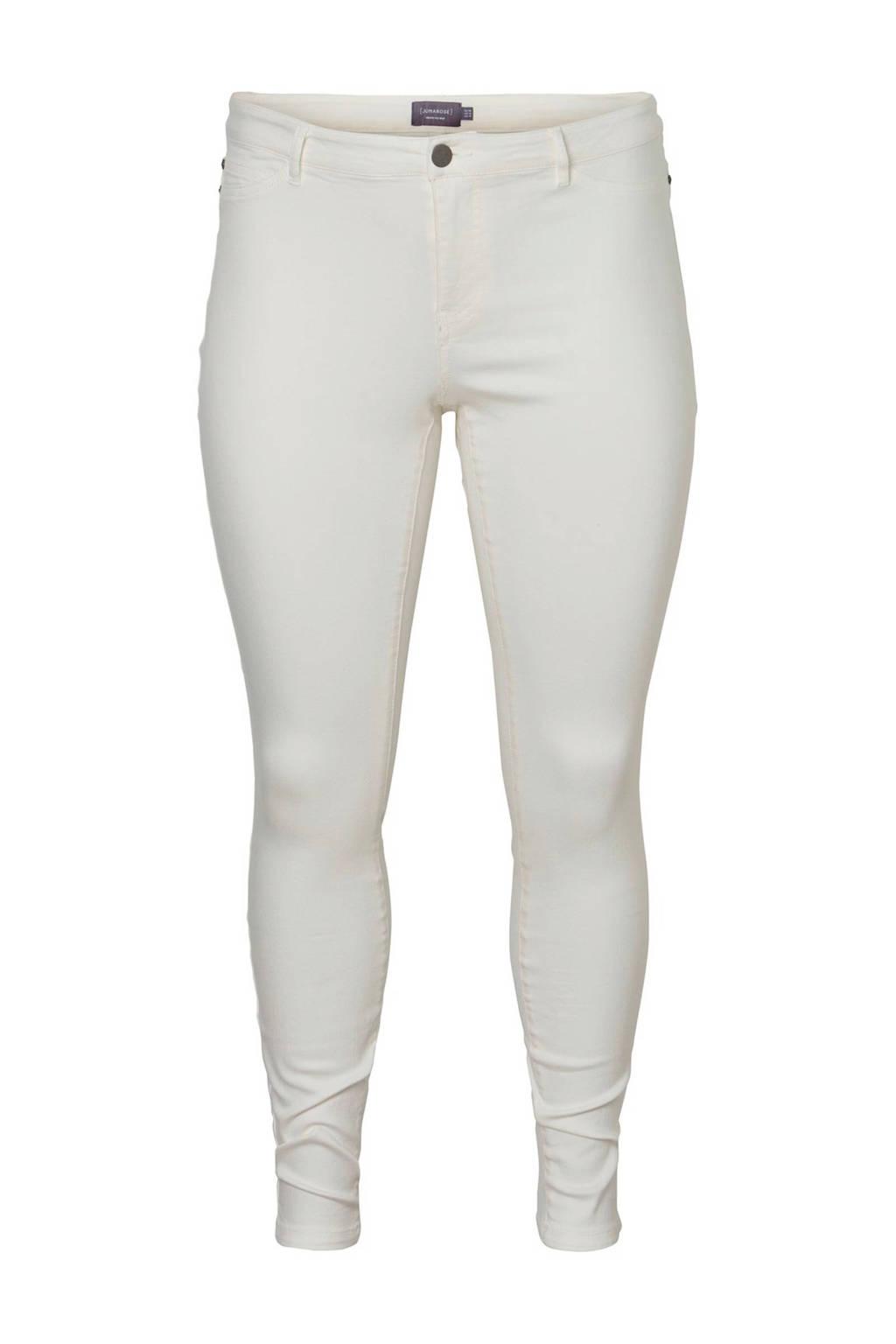 JUNAROSE Molly slim fit jeans wit, Wit