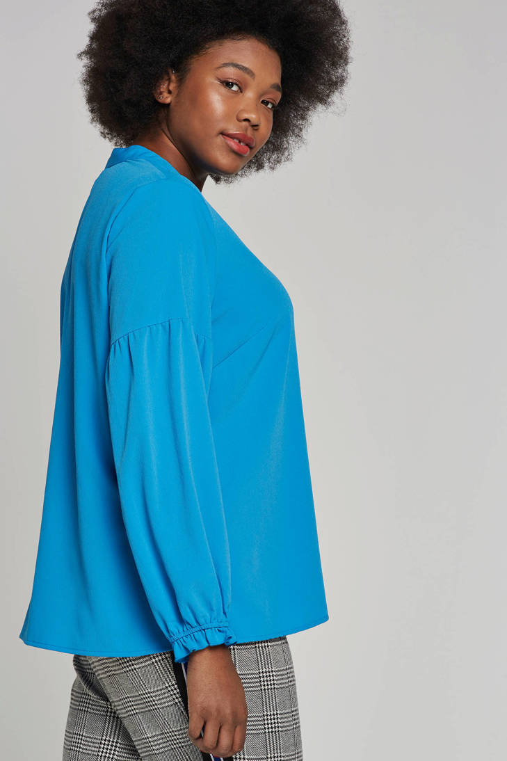blauw blouse JUNAROSE blauw blouse blouse JUNAROSE JUNAROSE xqpUn1wZ