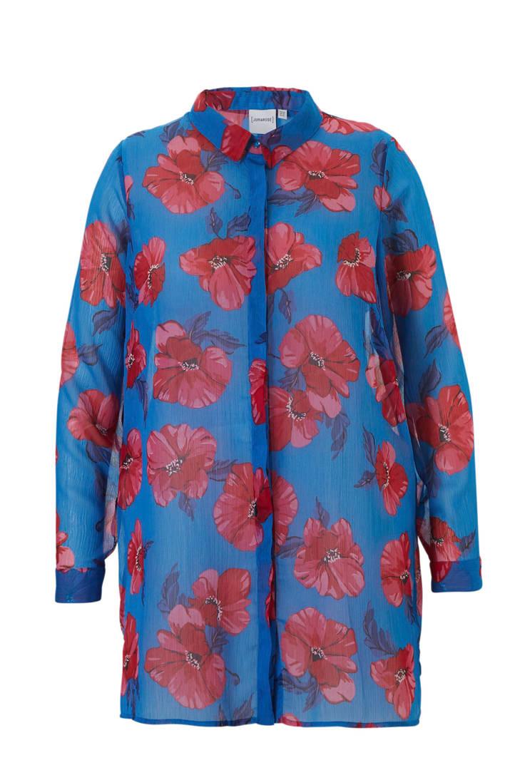 blouse met bloemenprint JUNAROSE blouse bloemenprint JUNAROSE JUNAROSE met blouse a0nnREqg