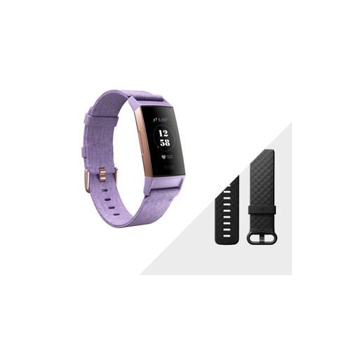 Fitbit Charge 3 - lavendel kopen