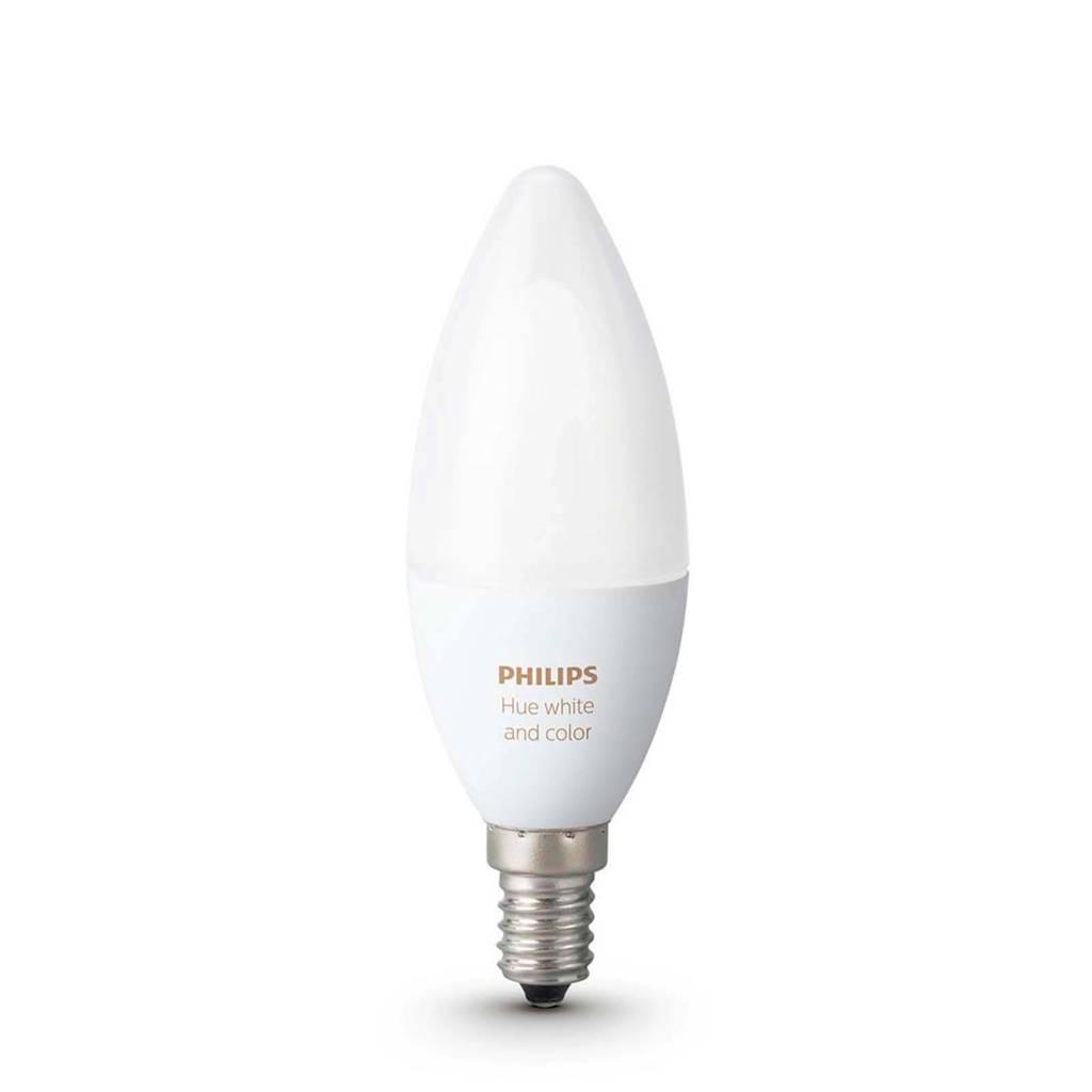 Philips Hue LED Lamp E14, Wit