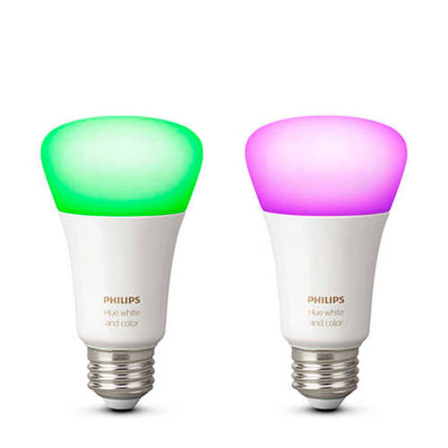 Philips Hue White and Color Ambiance E27 Duo Pack kopen