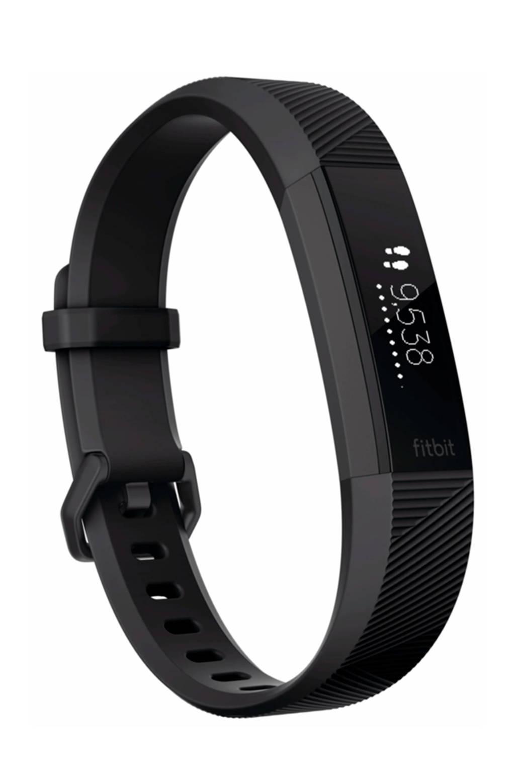 Fitbit Alta HR activiteiten tracker, Zwart, Roestvrijstaal