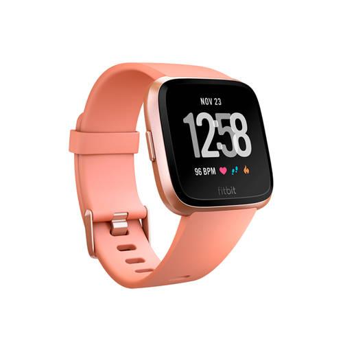 Fitbit Versa Peach-Rose Gold Aluminum