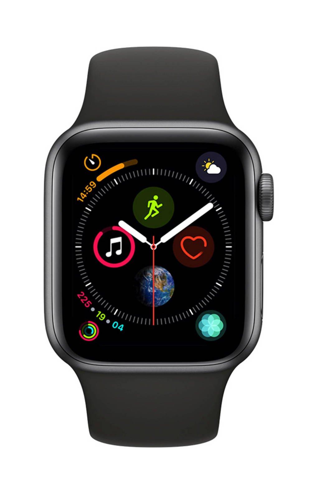 Apple Watch Series4 GPS40mm sportband, Grijs