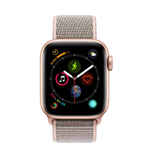 Apple Watch Series 4 GPS 40mm nylon band kopen