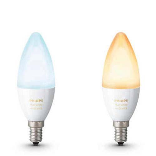 Philips Hue Ambiance LED kaarslamp Duopack E14 kopen