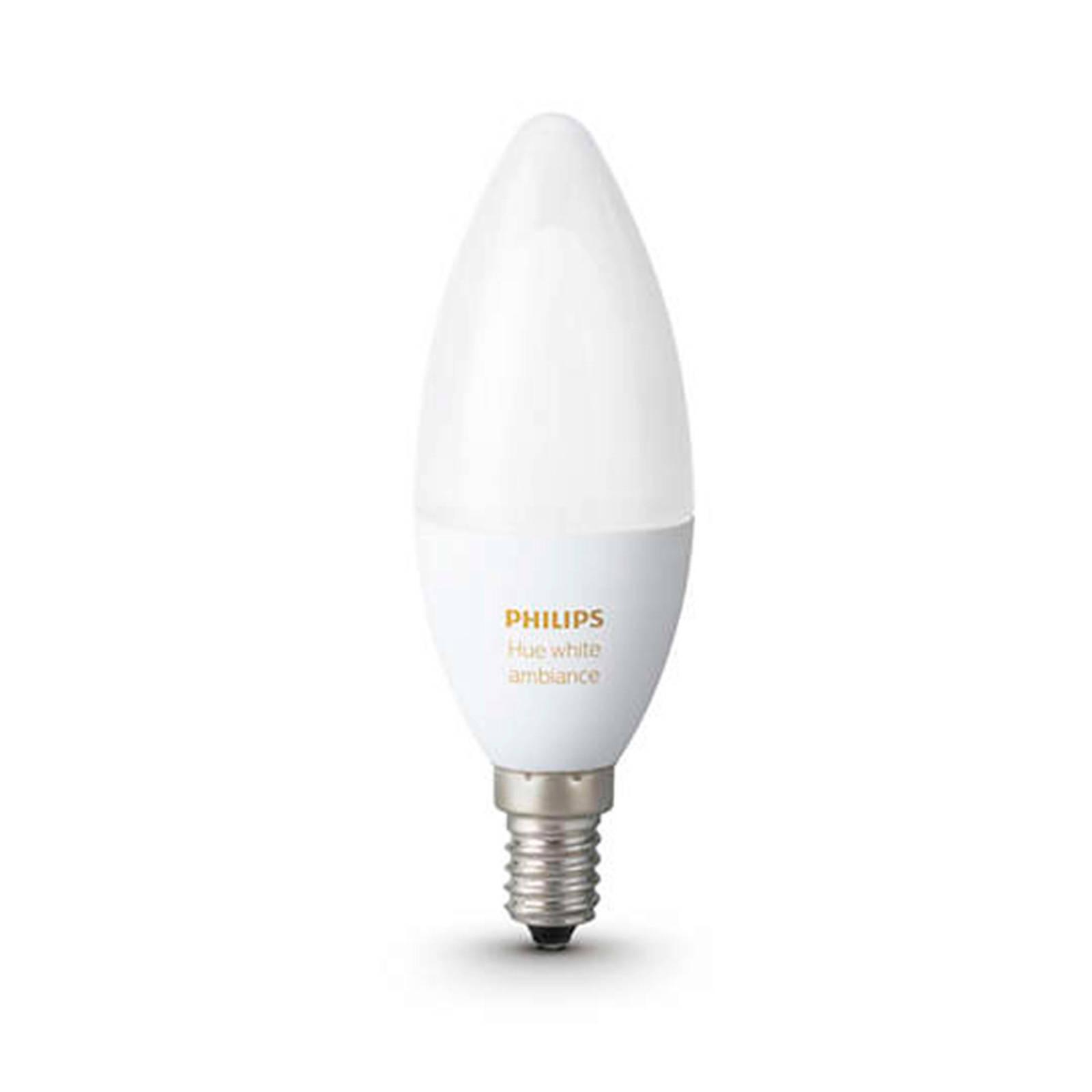 Fantastisk! Fantastisk mad Philips Hue Ambiance LED kaarslamp E14   wehkamp VH81