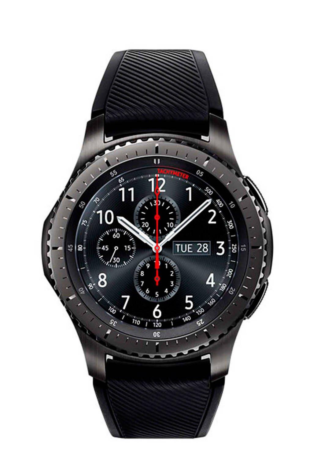 Samsung Gear S3 Frontier smartwatch, Antraciet