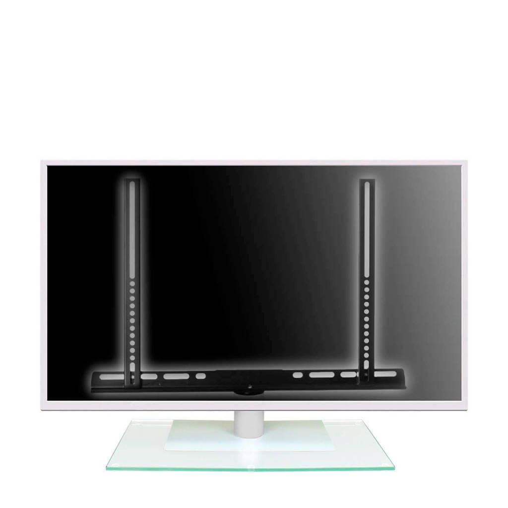 "Cavus tv standaard voor 37-42"", Transparant/wit"